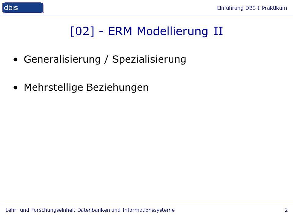 [02] - ERM Modellierung II